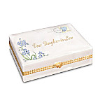 Dear Daughter-In-Law Collectible Porcelain Music Box