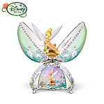 Disney Charming Tinker Bell Egg Shaped Porcelain Music Box: Tinker Bell Gift