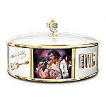 King Of Rock N Roll Music Box: Elvis Presley Collectible