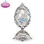 Disney Sparkling Cinderella Crystal Egg-Shape Music Box
