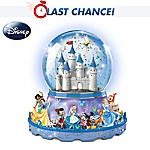 Disney Characters Parade Light-Up Musical Water Globe