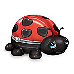 Granddaughter Ladybug Music Box: Cute As A Bug