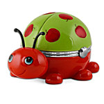 Apple Of My Eye: Granddaughter Ladybug Music Box