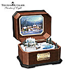 Thomas Kinkade Holiday Gathering Collectible Music Box