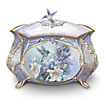 Lena Liu Plates Lena Liu Precious Treasure Hummingbird Music Box
