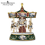 Thomas Kinkade Victorian Christmas Carousel