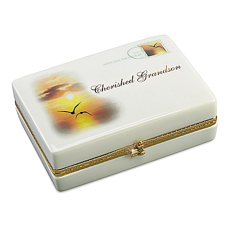 Music Box: Cherished Grandson Music Box