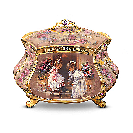 Sandra Kuck My Sister, My Friend Collectible Music Box