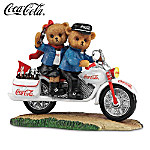 Take Off With The Refreshing Taste Of Coca-Cola Motorcycle Figurine