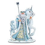 Icy Enchantment Unicorn Figurine