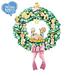 Precious Moments Nativity Wreath