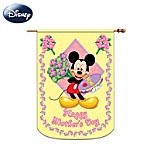 Mickey And Friends Happy Mothers Day Decorative Flag