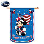 Mickey And Friends Happy Fourth Of July Decorative Flag