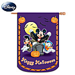 Mickey And Friends Happy Halloween Decorative Flag
