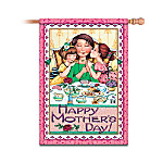 Mary Engelbreit Happy Mother's Day Decorative Flag