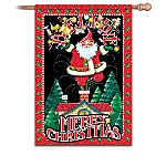 Mary Engelbreit Merry Christmas Decorative Fla