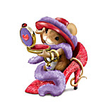 Charming Tails Stepping Out In Style Collectible Mouse Figurine