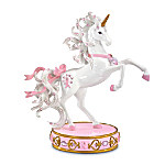 A Heart Full Of Hope Breast Cancer Charity Collectible Unicorn Figurine