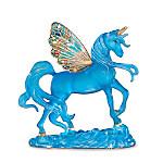 Starlight Sapphire Blue Unicorn Figurine