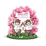 Breast Cancer Awareness Figurine: Charming Tails Best Friends From Start To Finish