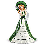 May The Sun Shine Warm Upon Your Face Irish Woman Figurine
