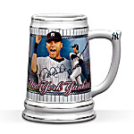 Derek Jeter Collectible New York Yankees Stein