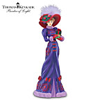 Thomas Kinkade Holiday Gathering Stylish Woman Figurine