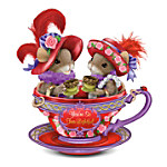 Charming Tails Youre So Tea-Lightful Mice Wearing Red Hats Figurine: Friends Gift