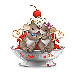 Charming Tails Im Nuts About You Romantic Mouse Figurine: Romantic Figurine Gift