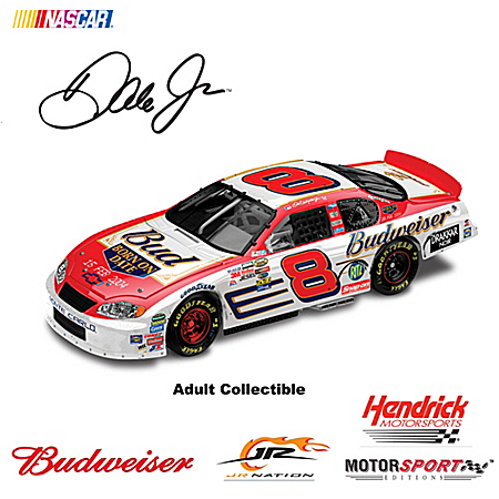 1:24 Dale Earnhardt Jr. Budweiser/Born On Date 15 Feb 2004 Chevrolet Monte Carlo Diecast