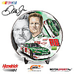Dale Jr. 2008 Signature AMP Energy Collector Plate: Dale Earnhardt Jr. NASCAR Collectible
