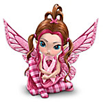 Breast Cancer Support Fairy Figurine: Magic Of Hope