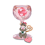 Charming Tails Lets Toast To Romance Mouse Figurine: Unique Valentines Day Figurine
