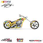One Sweet Ride Kyle Busch M&M'S Motorcycle Figurine