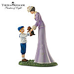 """Thomas Kinkade """"My Grandson, My Precious Gift"""" Victorian Figurine"""