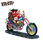 M&M'S Character Motorcycle Figurine: Leader Of The Pack