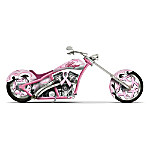 Breast Cancer Support Motorcycle Figurine: Highway Of Hope