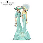 Thomas Kinkade A Sister Is More Than A Wonderful Friend Figurine