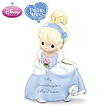 Disney Precious Moments Cinderella Figurine: My Granddaughter, My Princess