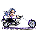 Fantasy Art Motorcycle And Fairy Figurine: Storm Rider