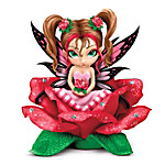 Ravishing Rosetta Flower Fairy Figurine