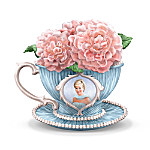 Princess Diana Tribute Teacup Figurine: England's Rose