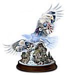 Together We Stand, United We Soar Eagle Figurine