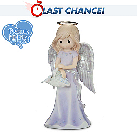 Precious Moments Alzheimer's Support Porcelain Angel Figurine: A Compassionate Friend