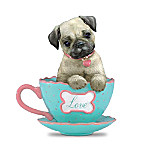 Pug Teacup Figurine: A Cup Of Love