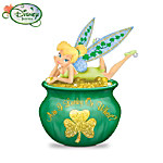 Disney Tinker Bell Irish Luck Figurine: Am I Lucky Or What?