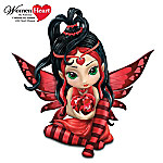 Womens Heart Health Support Fairy Figurine: Love