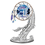 Unicorn Fantasy Art Dreamcatcher Figurine: Moonlit Dreams