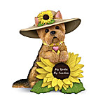 Yorkshire Terrier Figurine: My Yorkie, My Sunshine