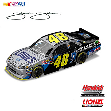 2011 NASCAR Sprint Cup Series: Jimmie Johnson Foundation No. 48 Diecast Car